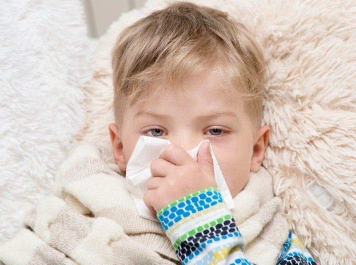 Ринит у ребенка: лечение